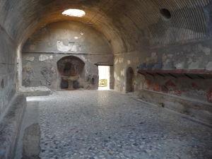 Tepidarium - Miestnosť obyčajnou teplotou pre odpočinok