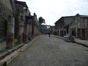 Hlavná ulica mesta - Decumanus Maximus