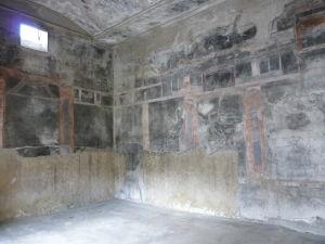 Casa del Salone Nero - Dom čierneho salónu - Čierny salón s maľbami v 4. štýle