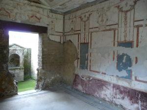 Casa del Salone Nero - Dom čierneho salónu - Miestnosť s maľbami v 2. štýle