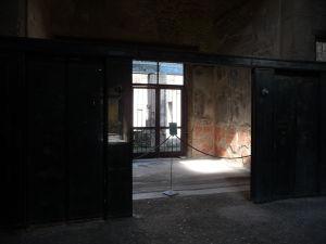 Vchod do rímskej vily z átria