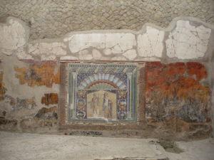 Mozaika znázorňujúca Neptúna a Amfitritu