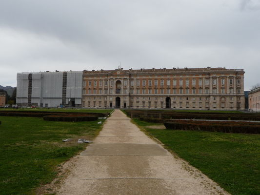 Kráľovský palác Reggia v Caserte