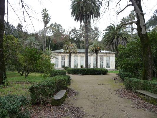 Botanická záhrada kráľovského paláca Reggia di Caserta