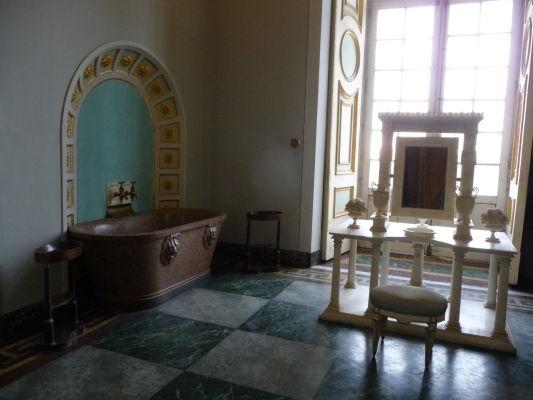 Kúpeľňa v kráľovskom paláci Reggia di Caserta