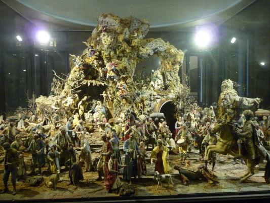 Obrí Betlehem v kráľovskom paláci Reggia di Caserta
