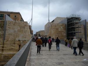 Vstupná brána do Valletty