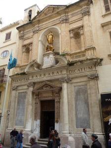 V uliciach Valletty - Chrám sv. Barbory