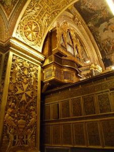 Interiéry Katedrály sv. Jána - Organ