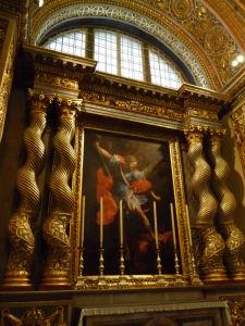 Interiéry Katedrály sv. Jána - Archanjel Michael