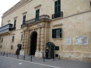 Vchod do Paláca veľmajstra