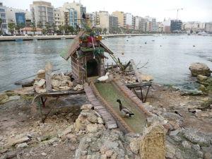 Kačacia dedinka na ostrove Manoel