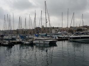 Marína pri ostrove Manoel