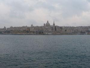 Pohľad na Vallettu zo Sliemy