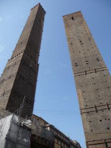 Dve šikmé veže - Asinelli a Garisenda