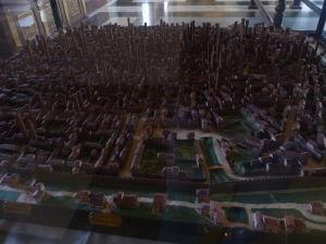 Model stredovekej Bologne