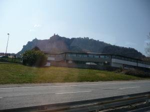 Cesta do San Marína - Na obzore sa už rysuje Monte Titano