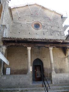 V uliciach San Marína - Kostol sv. Františka