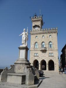 Sanmarínska radnica - Palazzo Pubblico