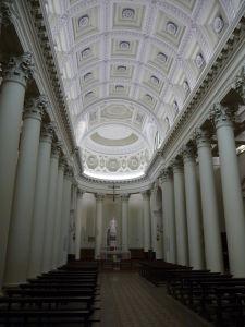 Bazilika sv. Marína - Pohľad na oltár