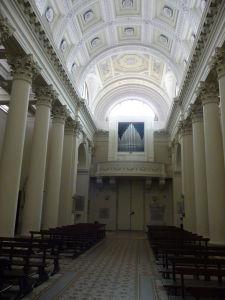 Bazilika sv. Marína - Pohľad na organ