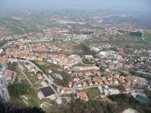 Veža Guaita - Výhľad do okolia