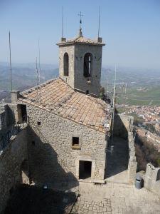 Veža Guaita - Kaplnka