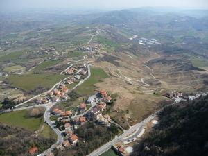 Veža Guaita - Výhľad na okolie