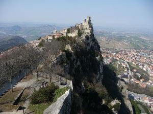 Veža Cesta - Výhľad na prvú vežu, Guaitu