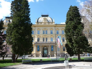 Maribor - Slomškovo námestie - Mariborská univerzita