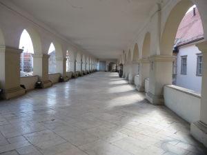 Mariborský zámok - Arkádová terasa