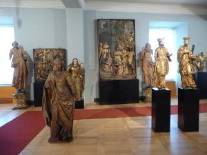 Mariborský zámok - Zachované sochy