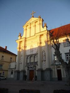 Ptuj - Kostol sv. Petra a Pavla