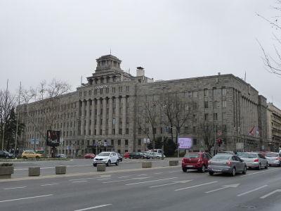 Hlavná budova Srbskej pošty