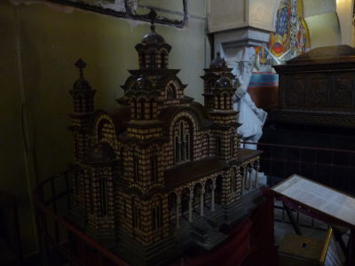Kostol sv. Marka - Maketa