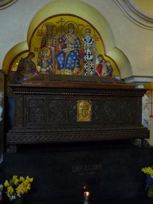 Kostol sv. Marka - Hrob kráľa Dušana