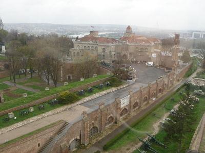 Výhľad z Veže s hodinami