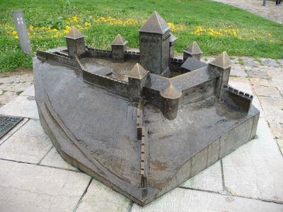 Maketa toho, ako kedysi pevnosť vyzerala