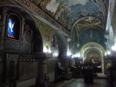 Interiér Kostola sv. Petky