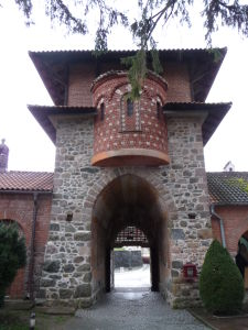 Kláštor Žiča - Vstupná brána