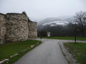 Hradby kláštora Studenica