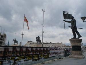 Sochy v Skopje - Je ich proste veľa