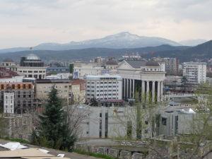 Pevnosť Kale - Pohľad na centrum Skopje