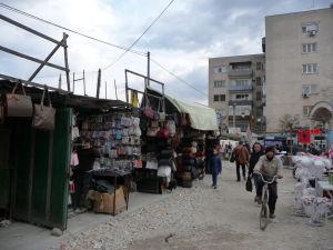 Tržnica v starom bazári