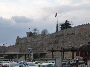 Pevnosť Kale pri pohľade z bazára