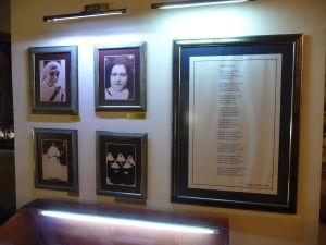 Pamätná izba Matky Terezy