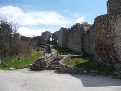 Hradby starého mesta Ohrid