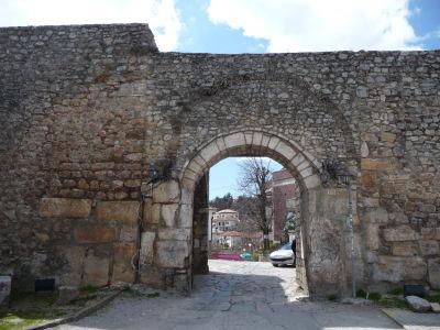 Hradby starého mesta Ohrid - Hlavná brána