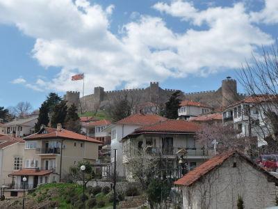 Samuelov hrad nad Ohridom