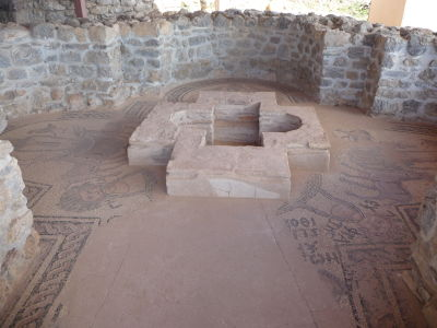 Pozostatky pôvodného Kostola sv. Pantaleona postaveného za čias sv. Klimenta